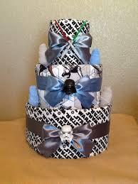 3tier star wars diaper cake decorations pinterest diapers