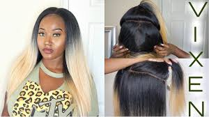 can you use syntheic on a vixen sew in 49 vixen sew in dupe outre 4 way lace part blow out straight wig