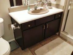 Behr Paint Kitchen Cabinets Painting Builder Grade Bathroom Cabinets Behr Paint And Primer Mix