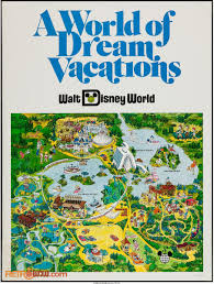 Walt Disney World Resorts Map by Walt Disney World Maps Retrowdw