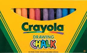 amazon com binney u0026amp smith crayola r drawing chalk assorted
