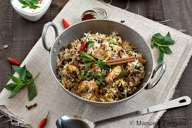 biryani cuisine hyderabadi chicken biryani