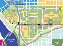 Oregon Convention Center Map by Maps And Directions