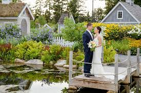 Botanical Garden Maine Matt Photography L And J S Wedding Pictures At The