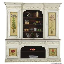 custom made high end furniture french style hutch by ttt llc
