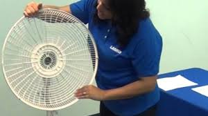 Box Fans Walmart by How To Assemble A Lasko Pedestal Stand Fan In Minutes With No