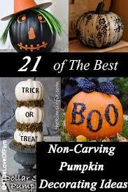 The Best Pumpkin Decorating Ideas 21 Of The Best Non Carving Pumpkin Decorating Ideas 4 The Love