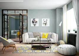 home interior accents 2 bright homes with energetic yellow accents