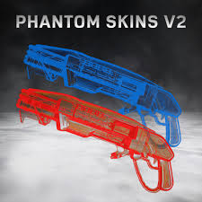 why are locust side phantom skins still orange gears of war 4