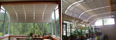 greenhouse sunroom sunroom shades and solarium shades by thermal designs inc