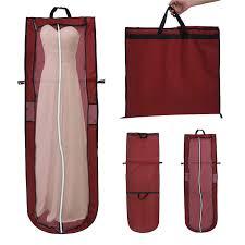 wedding dress storage non woven bridal garment bag wedding evening gown dress