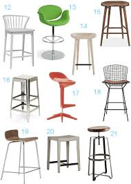 Cb2 Bar Stools Get The Look 72 Bar U0026 Counter Stools Stylecarrot