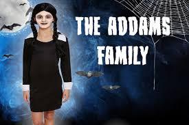 Wednesday Addams Costume Children U0027s Halloween U0027wednesday Addams U0027 Costume Age 4 12 Years