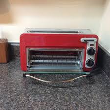 Under Counter Toaster Oven Walmart Hamilton Beach Toastation 2 In 1 2 Slice Toaster U0026 Oven In Red