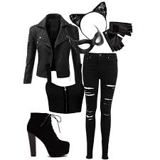 Halloween Costumes Catwoman Erica Inspired Halloween Catwoman Polyvore