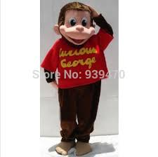 Curious George Costume Image Gallery Of Curious George Monkey Costume