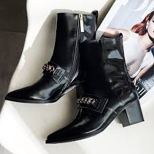 high end s boots 34 39women s boots 2016 high end fashion atmosphere chain