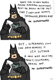 Superman Better Than Batman Memes - but superman beats alexander luther so im still gonna say superman