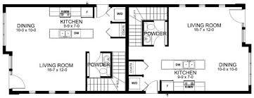duplex floor plans for narrow lots narrow lot contemporary duplex house plan hunters