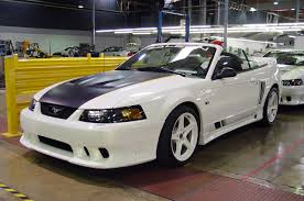 ford mustang assembly plant tour saleen sa20 rides cars and wheels