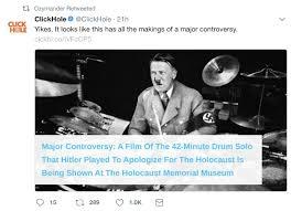 Drum Major Meme - alt lutheran on twitter altlutherans mock the holocaust in the