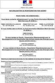 bureau des naturalisation naturalisation ou reintegration par decret pdf