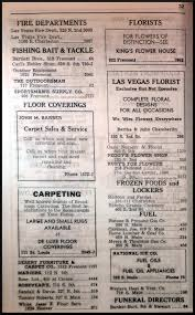 810 1750 S by 1947 Las Vegas Classified Directory Over50vegas Com