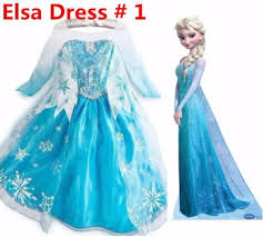 frozen costume princess elsa frozen dressup costume dress gown