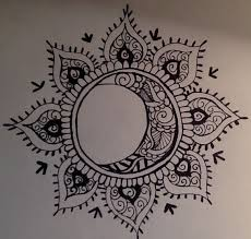 la costilla mandala moon and hennas
