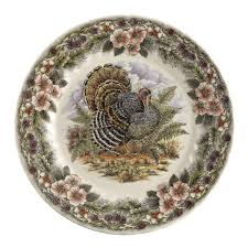 churchill thanksgiving china dinner plates set of 2