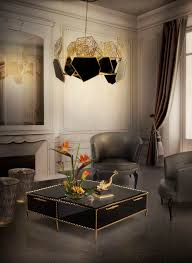 Living Room Luxury Furniture Luxury Gold And Black Furniture For Modern Interiors