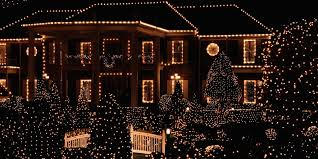 house lights white outdoor light decoration