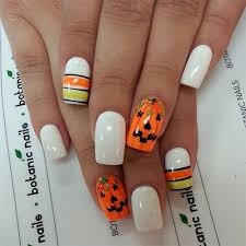 20 halloween pumpkin nail art designs ideas trends u0026 stickers