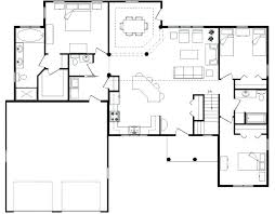 small modern floor plans open modern floor plans dsellman site
