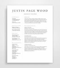 resume template simple resume template resume professional resume template cv template