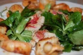 cuisiner coquille jacques recette salade rouget coquille jacques et crevettes 750g