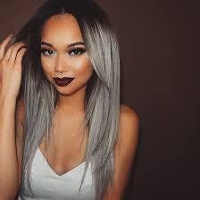trendy grey hair diy grey silver ombre hair kamdora