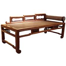 chinese antique opium bed from a unique collection of antique