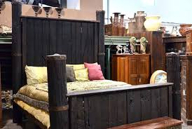 Antique Style Bed Frame Door Bed Frame Antique Column Style Bed Wood Door Bed Frame Selv Me