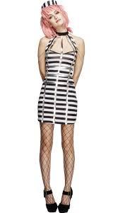 prisoner costume new fashion prisoner costume for women black and white
