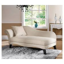 Tufted Chaise Lounge Buy House Of Hampton Peabody Tufted Chaise Lounge