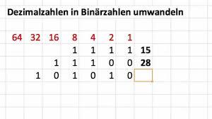 wie rechnet brüche in dezimalzahlen um dezimalzahlen in binärzahlen umwandeln und binärzahlen in