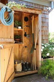 organize your garden shed gardens organizing and outdoor paint