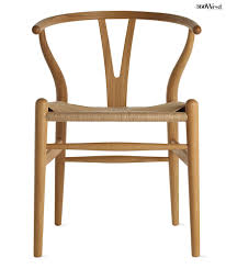 hans wegner u0027s wishbone chair is known for a steam bent wood frame