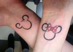 couple tattoo mickey mouse mickey mouse and minnie mouse couples tattoos relationship goals