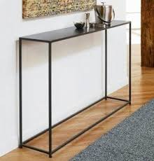 iron entry table foter