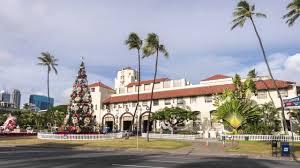 honolulu city lights christmas on oahu hawaii hyperlapse timelapse