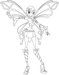 flora coloring pages top cartoon winx club coloring pages for girls womanmate com