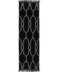Trellis Outdoor Rug Winter Shopping Special Elodie Modern Black Trellis Outdoor Rug