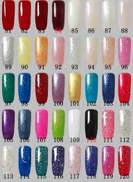 12 pcs gel nail polish set color gel 10 bottles base gel top